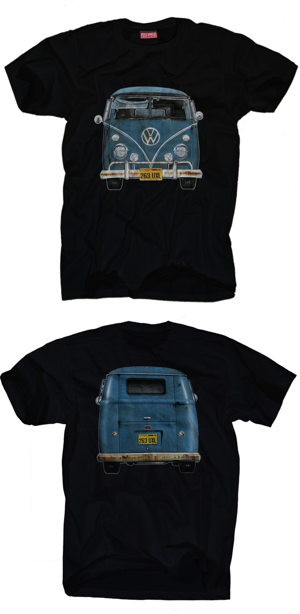 vw bus t shirt volkswagen bulli samba t1 t2 t3 t4 t5 nos. Black Bedroom Furniture Sets. Home Design Ideas