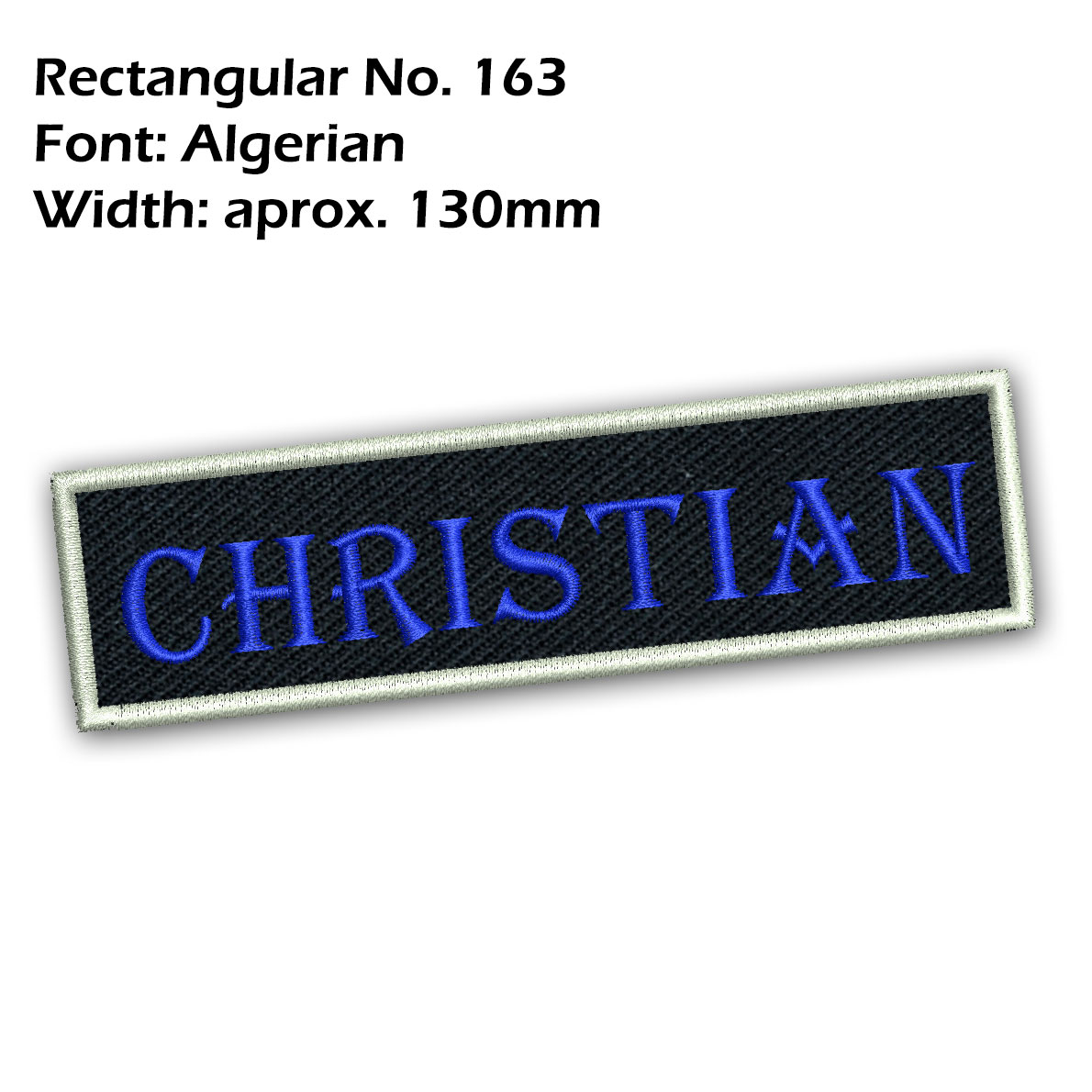 Custom-Name-Patch-Embroidered-Iron-On-Biker-MC-Tag-Motorcycle-Airsoft-Badge