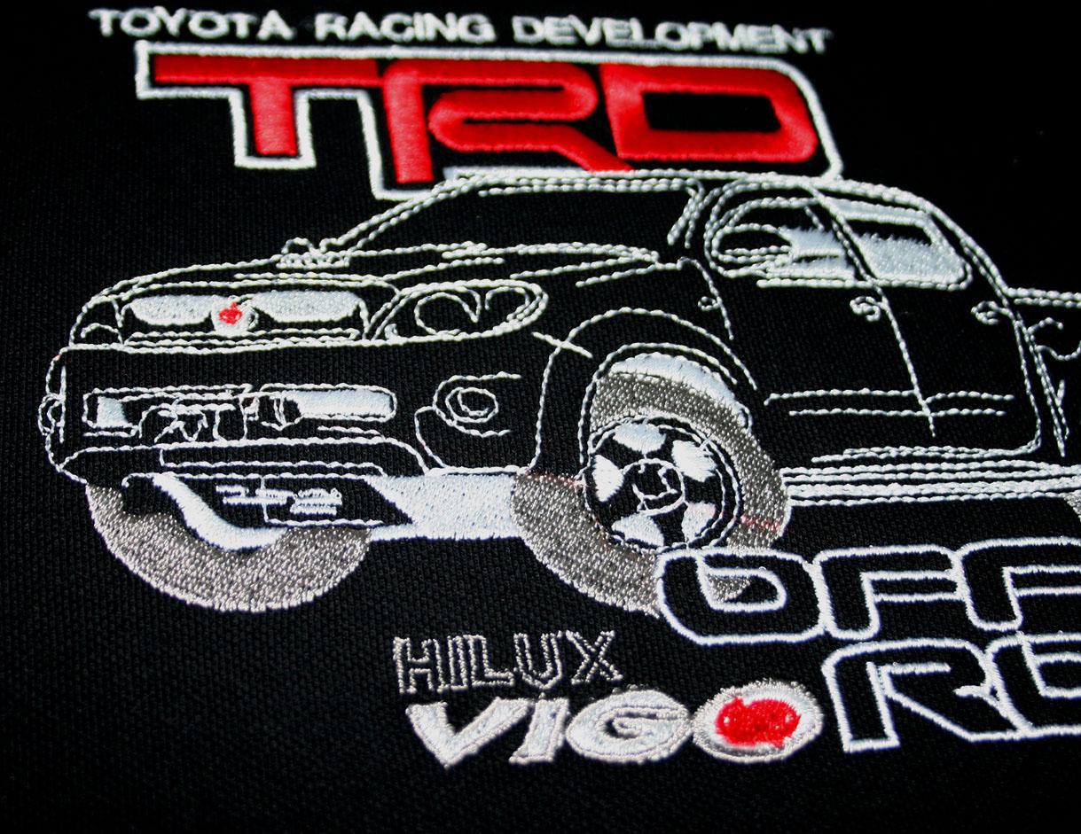 hilux trd polo shirt s 3xl 4wd offroad toyota racing development vigo pickup ebay. Black Bedroom Furniture Sets. Home Design Ideas