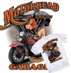 American Biker T-Shirt Route 66  Pin Up Harley OldSkool