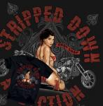 Chopper T-shirt Stripped Down Sexy Pinup Biker  Harley Westcoast