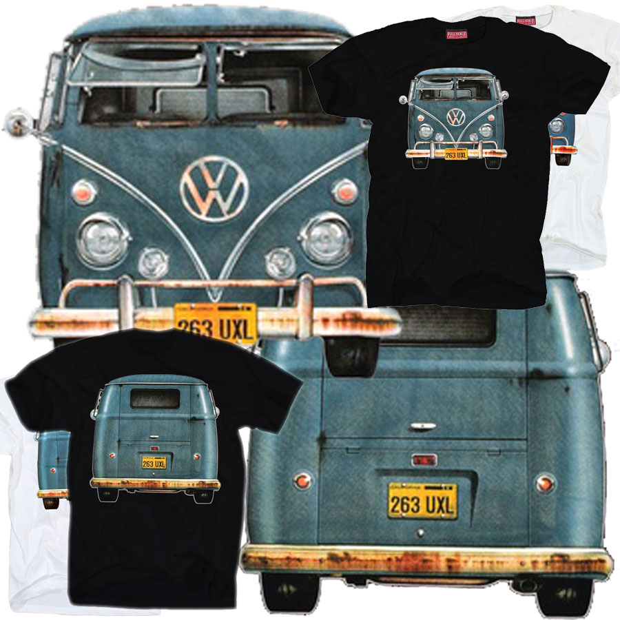 bkk bargains vw van  shirt split screen bus  veedub classic volkswagen camper bay window