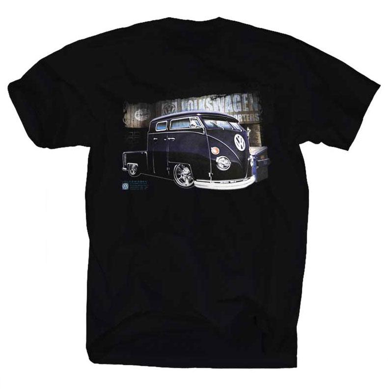 bkk bargains vw bus t shirt volkswagen bulli samba t1 t2. Black Bedroom Furniture Sets. Home Design Ideas